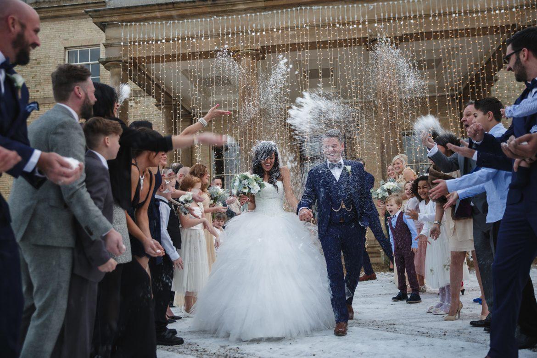 Stubton Hall Wedding – Winter Wonderland – Janey & Matt