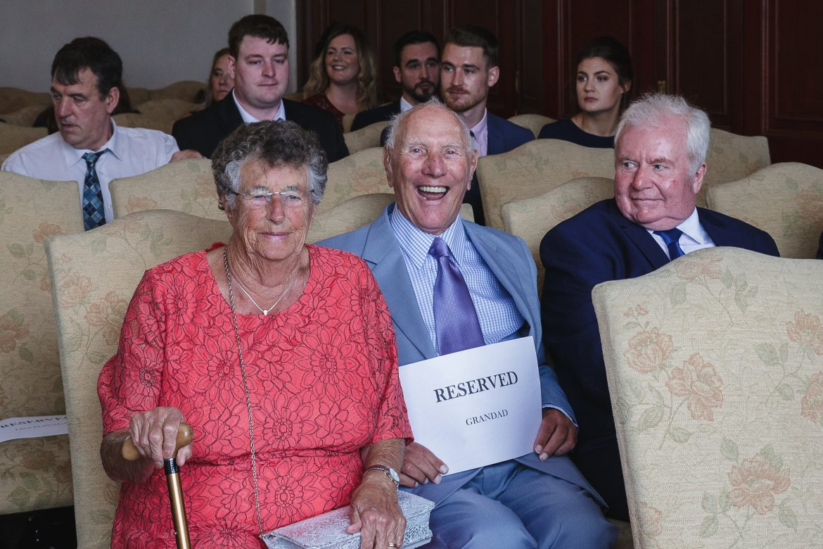 How To Look After Your Elderly Guests At Your Wedding