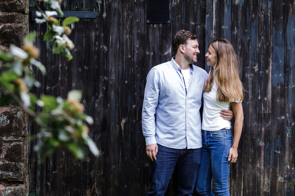 Laura & Rob on their Peak District Engagement Shoot