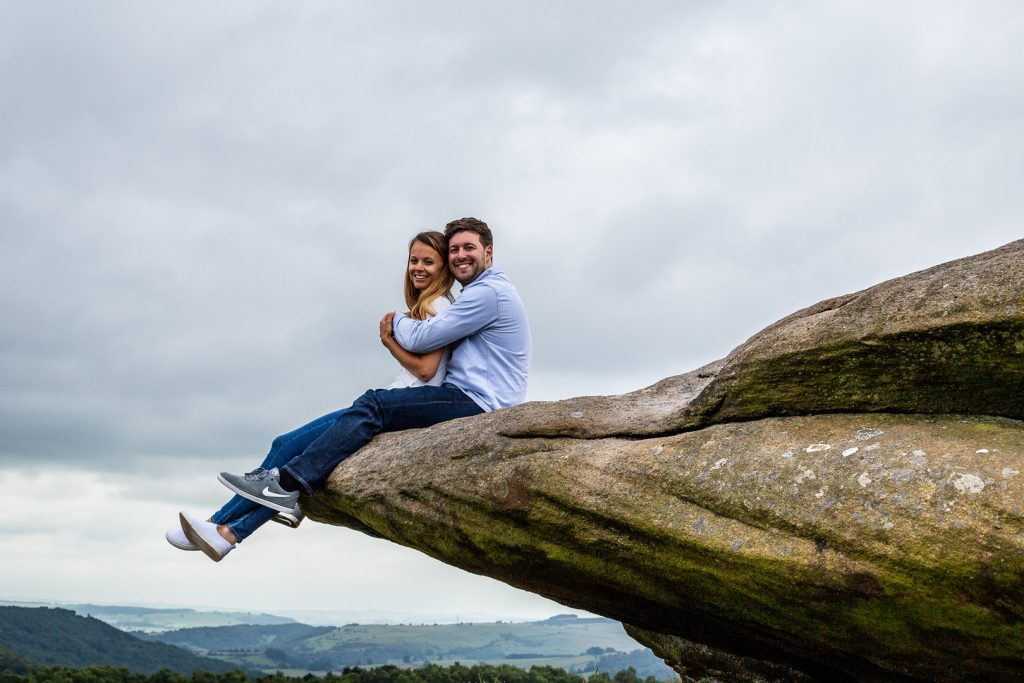 Peak District Engagement Shoot With Laura & Rob