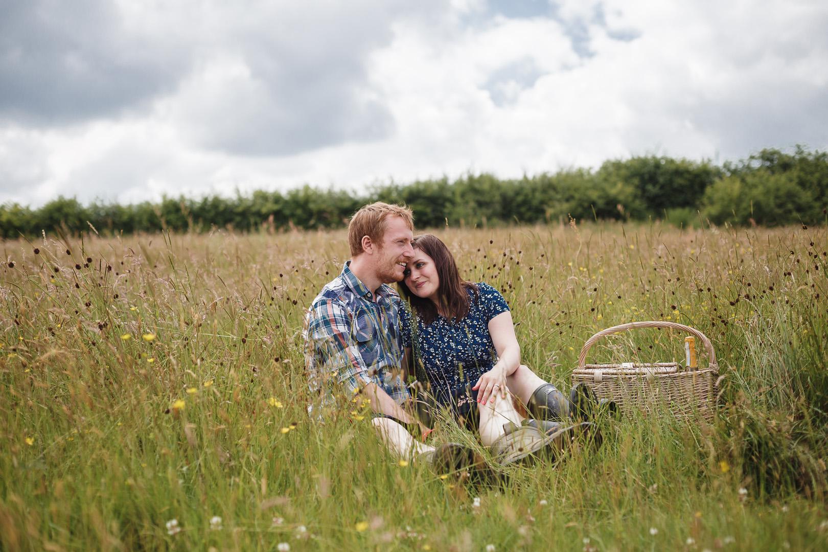 Nat & Stephen – Engagement Shoot – Shipley Park
