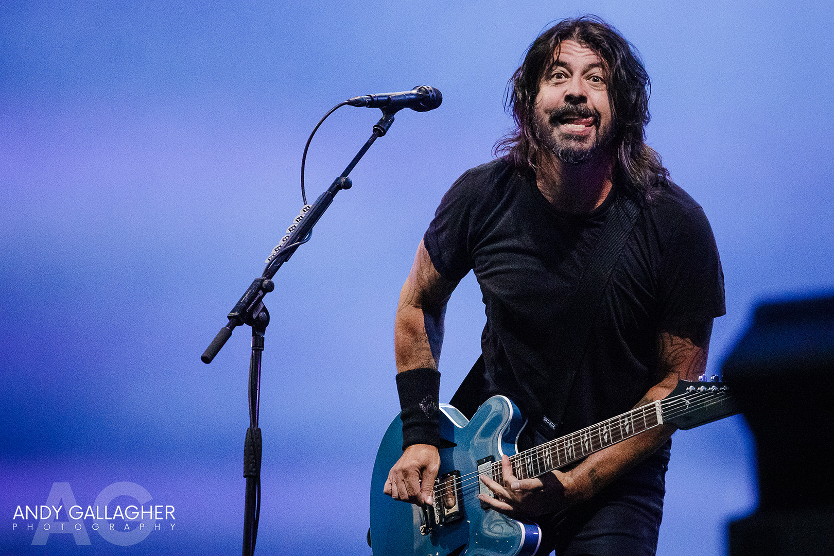 Dave Grohl Just Stuck His Tongue Out At Me…