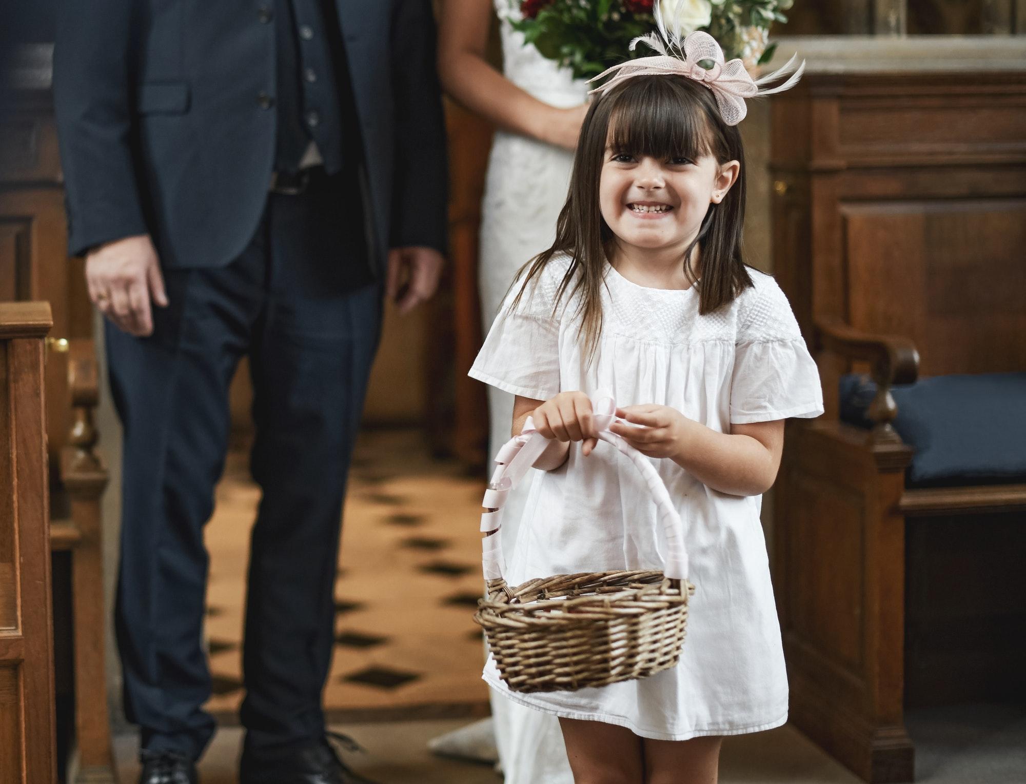 The Wedding Flower Girl