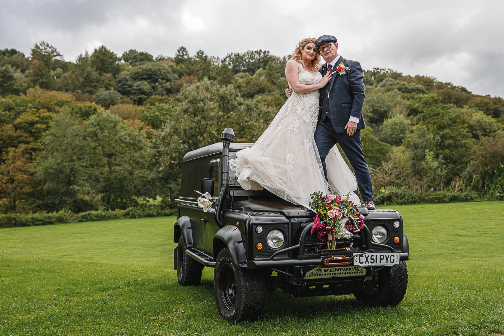 The Hurt Arms Ambergate Wedding – Sneak Peek – Claire & Mike