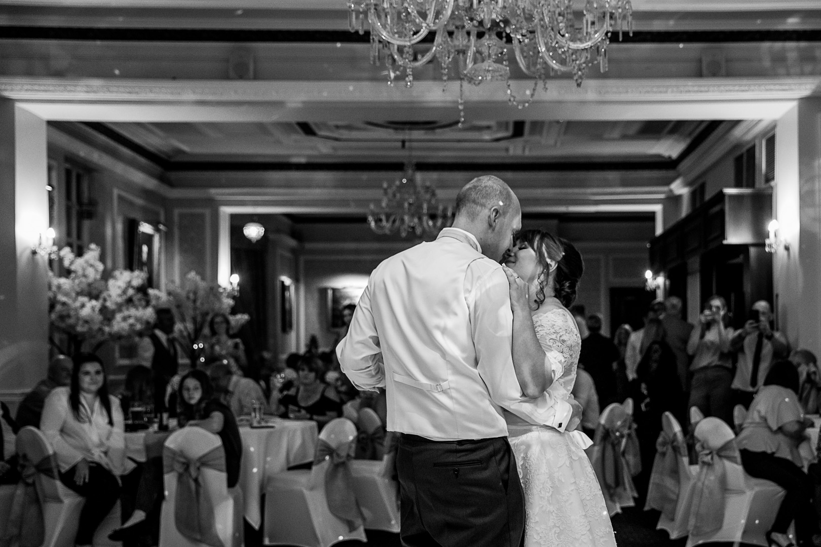 first dance at west retford hotel wedding